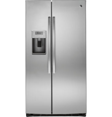 jcpenney.com | GE® ENERGY STAR®  Profile 25.4 cu. ft. Side-By-Side Refrigerator