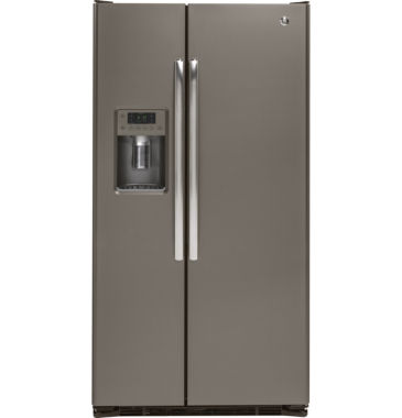 jcpenney.com | GE® 21.9 cu. ft. Counter Depth Side-By-Side Refrigerator