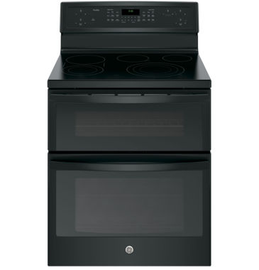 "jcpenney.com | GE Profile™  30""  6.6 Cu. Ft. Double Oven Electric Range with Convection Oven"