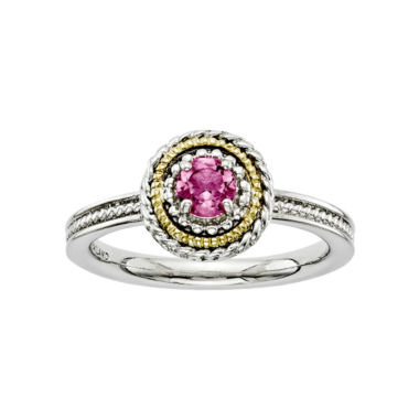 jcpenney.com | Personally Stackable Two-Tone Tourmaline Ring