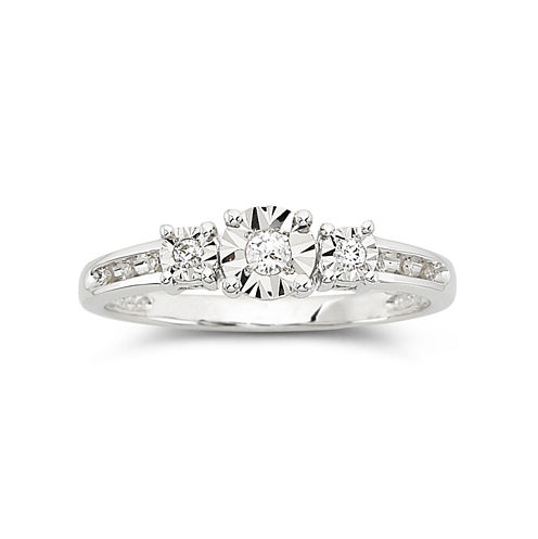 1/10 CT. T.W. Diamond Promise Ring