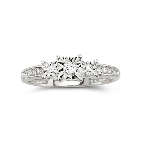 1/10 CT. T.W. Diamond Promise Ring