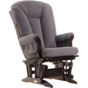 Dutailier® Multi-position Sleigh Glider - Dark Gray