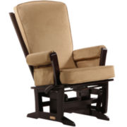 Dutailier® Multi-position Modern Glider - Cocoa
