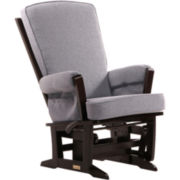 Dutailier® Multi-position Modern Glider - Dark Gray
