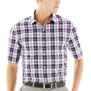 Claiborne® Short-Sleeve Fashion Woven Shirt