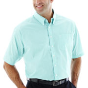 Dockers® Short-Sleeve No-Iron Woven Shirt–Big & Tall