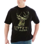 Bioworld Wild Camo Graphic Tee–Big & Tall