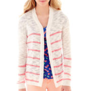 Arizona Long-Sleeve Open-Front Cardigan