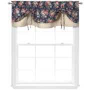 Versa-Tie® Bella Rose Rod-Pocket Valance