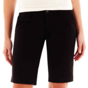 Arizona Schoolgirl Bermuda Shorts - with Extended Sizes