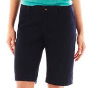 Arizona Schoolgirl Bermuda Shorts - with Extended Sizes