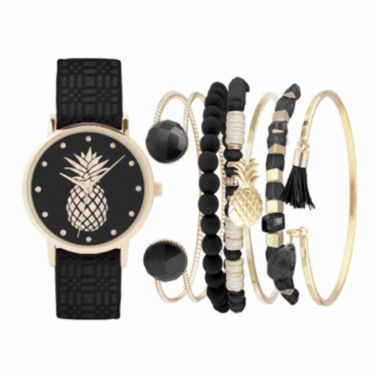 jcpenney.com | Womens Black Watch Box Set