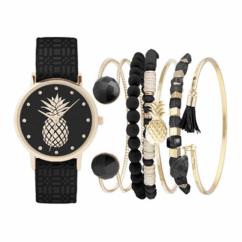 Womens Black Watch Box Set