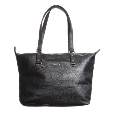 jcpenney.com | Stone And Co Talia Front Zip Pebble Leather Tote Bag