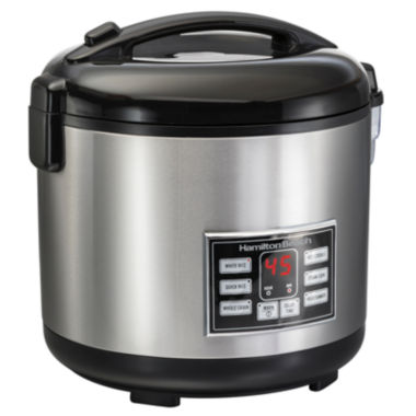 jcpenney.com | Hamilton Beach® Rice/Hot Cereal Cooker