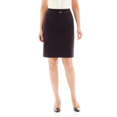 Liz Claiborne® Belted Pencil Skirt by Liz Claiborne