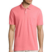 Polo shirts pink shirts for men jcpenney for Jcpenney ladies polo shirts