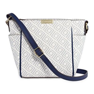 1ca7c1a95fb Liz Claiborne Lola Crossbody Bag JCPenney