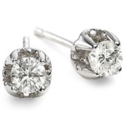 True Love, Celebrate Romance® 1/4 CT. T.W. Diamond Stud Earrings 14K White Gold