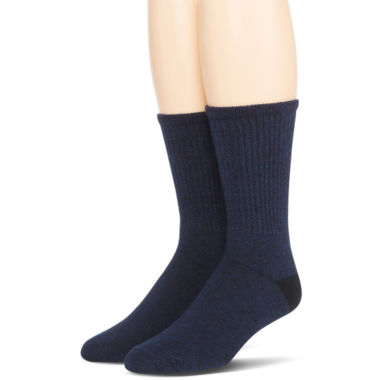 jcpenney.com | Dr. Scholl's® 2-pk. Non-Binding Casual Crew Socks