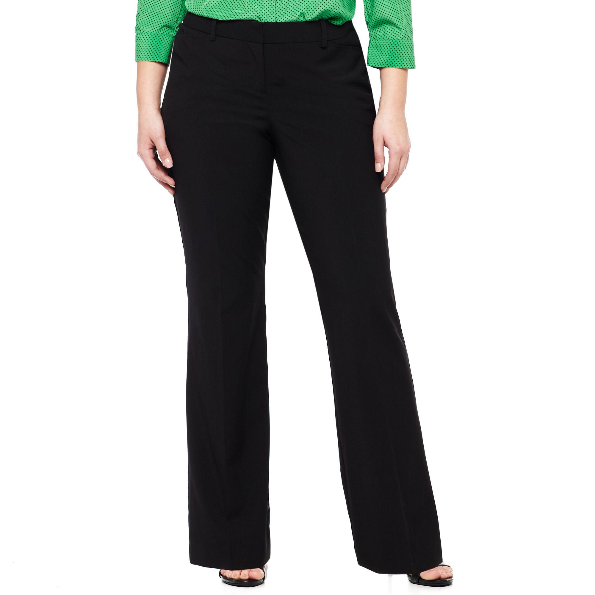 Worthington Modern Fit Trouser Pants - Plus plus size,  plus size fashion plus size appare