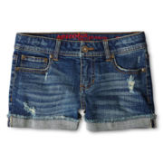 Arizona Denim Shorts - Girls 6-16 and Plus