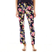 Liz Claiborne® Print Soft Pants - Tall