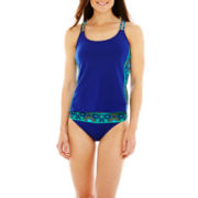 Stylus™ Racerback Tankini Swim Top or Hipster Bottoms