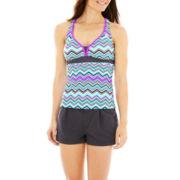 ZeroXposur® Tankini Swim Top or Woven Shorts