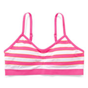 Maidenform Striped Seamless Crop Bra - Girls 7-16