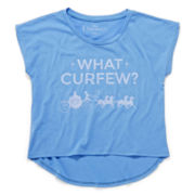 Cinderella Short-Sleeve Curfew Top - Girls 7-16