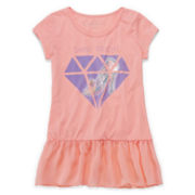 Cinderella Short-Sleeve Diamond Top - Girls 7-16