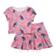 Disney Frozen 2-pc. Tee and Skirt Set - Girls 7-16