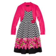 Disorderly Kids® High-Low Dress and Shrug – Girls 7-16 and Plus
