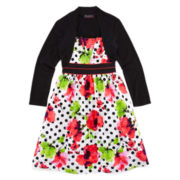 Disorderly Kids® High-Low Dress and Shrug – Girls 7-16