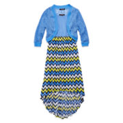 My Michelle® High-Low Cardigan Dress - Girls 7-16