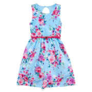 Disorderly Kids® Sleeveless Keyhole Dress – Girls 7-16 and Plus