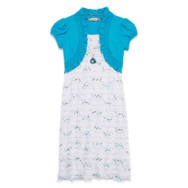 jcpenney.com | Speechless® Eyelash Dress - Girls Plus