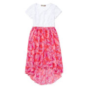 Speechless® Butterfly High-Low Dress — Girls 7-16