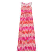 Speechless® Chevron Maxi Dress - Girls 7-16
