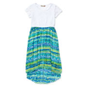 Speechless® Print High-Low Dress — Girls 7-16