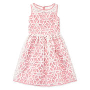 Speechless® Daisy Textured Dress — Girls 7-16