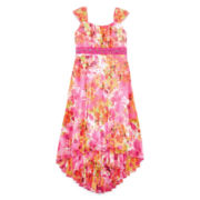 Speechless® High-Low Floral Dress — Girls 7-16