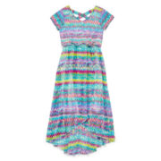 Speechless® Crisscross Chevron Maxi Dress — Girls 7-16