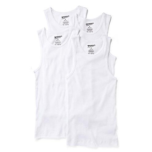 Arizona 4-pk. Sleeveless Shirts - Boys 2-20