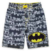 Batman Swim Trunks - Boys 2T-5T