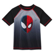 Spider-Man Rash Guard - Preschool Boys 4-7