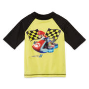 Super Mario Brothers Rash Guard - Boys 4-7