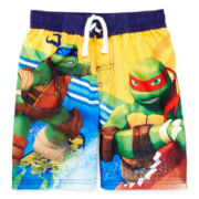 Teenage Mutant Ninja Turtles Swim Trunks – Boys 4-7